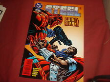STEEL #24   Death Of Superman spin-off     DC Comics 1996 -  NM