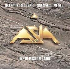 ASIA - Live in Moscow 1990 by Asia (Rock) (CD, Big Eye Music) John Wetton