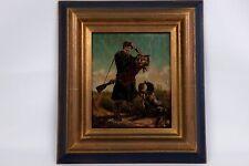 LE CHASSEUR, XIXème siècle par Marie RENON.