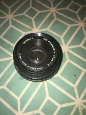 Film Camera Lens Minolta MD Rokkor-X 45mm 1:2 49mm - TESTED