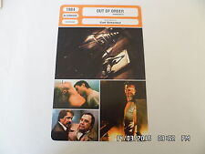CARTE FICHE CINEMA 1984 OUT OF ORDER Gotz George Renée Soutendijk W.Kieling