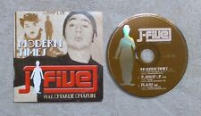 "CD AUDIO / J-FIVE FEAT. CHARLIE CHAPLIN ""MODERN TIMES"" 3T CD MAXI-SINGLE 2004"
