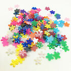 New 100pcs 10mm Resin Plum Flowers Flatback For DIY Phone case Crafts Mix AB