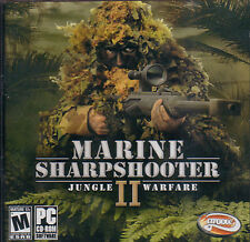 MARINE SHARPSHOOTER II 2 Jungle Warfare PC Game NEW JC