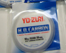 1 Spool Yo-Zuri HD Carbon - Fluorocarbon Leader 10# clear  - FREE USA SHIPPING!