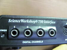 OEM PASCO Science Workshop 750 Interface CI-7500 8 Ports Switch w/ power Adapter