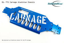RADSHAPE RC-3mm Thick FTX Carnage Aluminium Chassis Upgrade - Blue - #FTRP20008