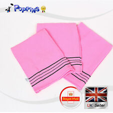 Korean Bath Shower Songwol Italy Towel Body Scrub Exfoliating Towels 3PCS PINK
