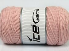 2 PELOTES DE LAINE ICE YARNS SAVER POWDER ROSE