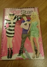 Create Your Top Star Drawing Book Gaga Bieber Twilight Selena Gomez Kesha Ashley