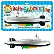 33cm Large battery operated Fun Scuba Wind Up Water Submarine Boat Toddler Toys