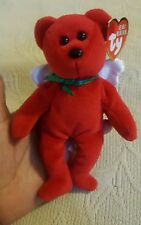 Ty Baby Beanie Divine the Angel Bear Holiday Ornament (2009) Pre-owned Christmas