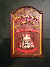 Christmas DAVID WINTER Cottages Castles Houses Original Boxes