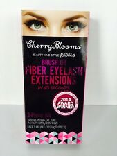 Cherry Blooms Eyelash Extensions-Brush on Fiber Lashes in 60 Seconds (Authentic)
