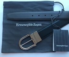 Ermenegildo Zegna Men's reversible leather belt, nwt