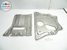 07-13 BMW X5 E70 AWD ENGINE BAY FRONT SPLASH SHIELD COVER SKID PLATE SET OEM