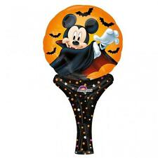 Halloween MICKEY MOUSE DRACULA inflate-a-fun MINI HAND HELD BOLLA