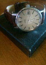 Omega De ville Automatic watch. 38mm with omega strap, works great