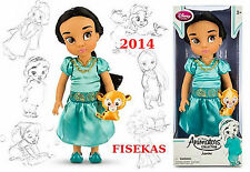 Disney Store Princess Animators Collection Jasmine Doll 16 inch Pet 2014 NEW