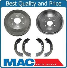 For 2009-2013 Chevrolet Silverado 1500 2 Rear Brake Drums & Rear Brake Shoes