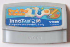 VTech Read Play Create Innotab 2S - Learning Game - Cartridge - USED B135