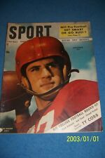 1948 Sport Magazine SMU SOUTHERN METHODIST Doak WALKER No Label ORIGINAL