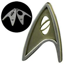STAR TREK BEYOND Licensed SCIENCE Officer MAGNETIC Badge PROP REPLICA Spock
