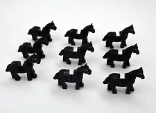 Lot of 9 pcs Castle Knight black horse building block toys all new in bags