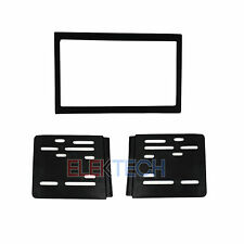 Radio Replacement Aftermarket Dash Mount Installation Kit Double-DIN for Mazda