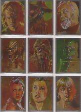 Star Wars Galaxy 7 - Set of 15 Silver Foil Chase Cards #1-15