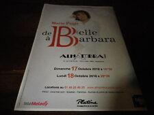MARIE PAULE BELLE - Publicité de magazine / Advert !!! CONCERT ALHAMBRA !!!