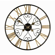 Large Wall Clock With Roman Numerals (50cm Diameter) Free UK Delivery