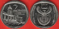 "South Africa 2 rand 2014 ""Union Buildings"" UNC"