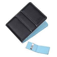 YCM15A03 Blue Wedding Gift Leather PU Wallet with Money Clip Gift for friend Y&G