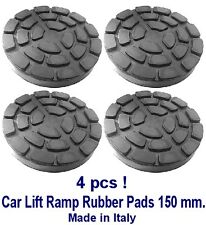 SET OF 4 PADS Ravaglioli 2 Post Car Lift Ramp Rubber Pads - 150 mm - REAL RUBBER