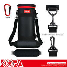 "KORA 12.2x4.9"" Lens Pouch Bag for Sigma Tamron A011 A022 150-600mm & JBL Xtreme"
