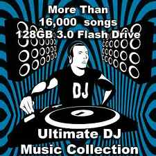 Ultimate DJ Collection Music Library 2016 128GB USB 3.0 Drive