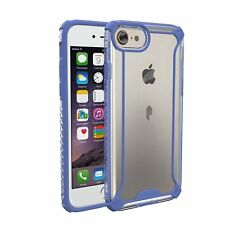 iPhone 7 Case,Affinity Premium Thin Dual material Clear Bumper Cover for Apple