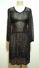 CULT VINTAGE '60 Abito Vestito Donna Viscosa Rayon Woman Dress Sz.XS - 40