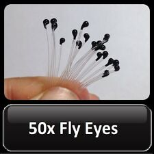 50x Fly Eyes CRAB / SHRIMP / PRAWN Fly Tying Fishing Rods Reels & Lines Lures
