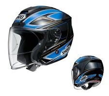 SHOEI J FORCE 4 J-FORCE BRILLER TC-2 BLUE/BLACK L Large  HELMET