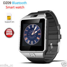 DZ09 Bluetooth Smart Watch GSM Smartwatch For Android iPhone Samsung HTC Silver