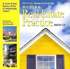 Audio CDs for Modern Real Estate Practice by Dearborn Real Estate Education