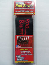 """Original Rod Saver - 2 Straps Incl 10"""" & 6 """" - Holds up to 5 Rods - 10/6RS"""
