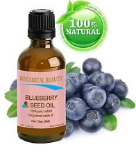 Botanical Beauty BLUEBERRY SEED OIL.100% PureUndiluted/ColdPressed 0.17oz 5ml