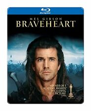 Braveheart (Blu-ray Disc, 2013, Steelbook) English, French, Spanish
