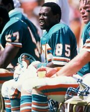 1984 MARK DUPER Miami Dolphins FOOTBALL CLASSIC Glossy Photo 8x10 GREAT PICTURE