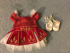 American Girl Doll Ruby Red Ballet Outfit