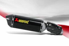 AKRAPOVIC KAWASAKI NINJA ZX-6R SLIP ON EXHAUST SYTEM CARBON 1995- 2016