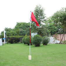 Backyard Practice Golf Hole Pole Cup Flag Stick Putting Green Flagstick Golfer